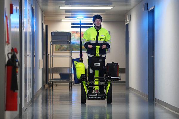 Mobile Rescue Segway
