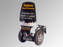 Segway advertising board